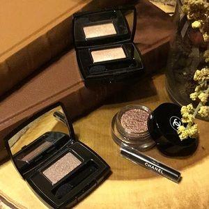 Chanel eyeshadow bundle